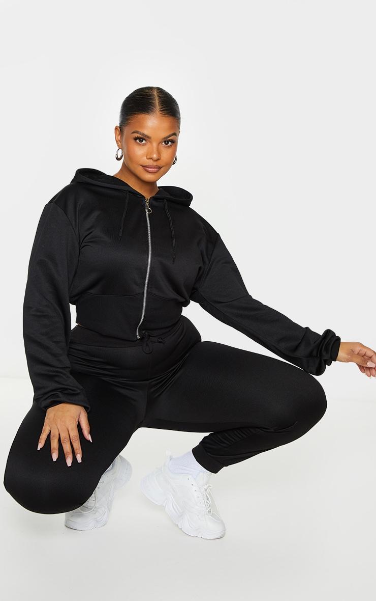Plus Black Sweat Ultimate Joggers 1