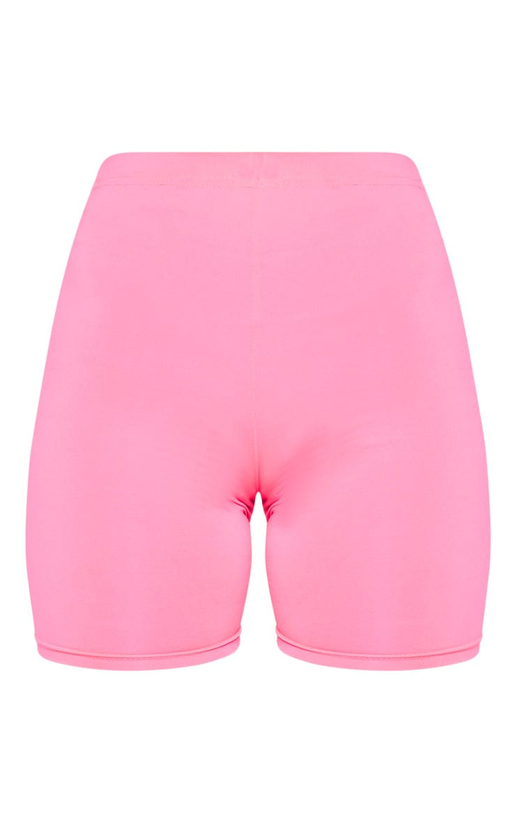 Neon Pink Cycle Short  3