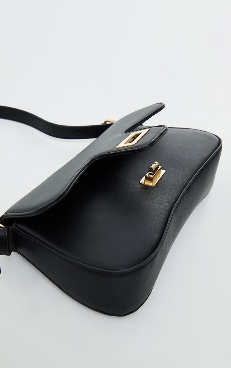 Black Envelope Shoulder Bag 4