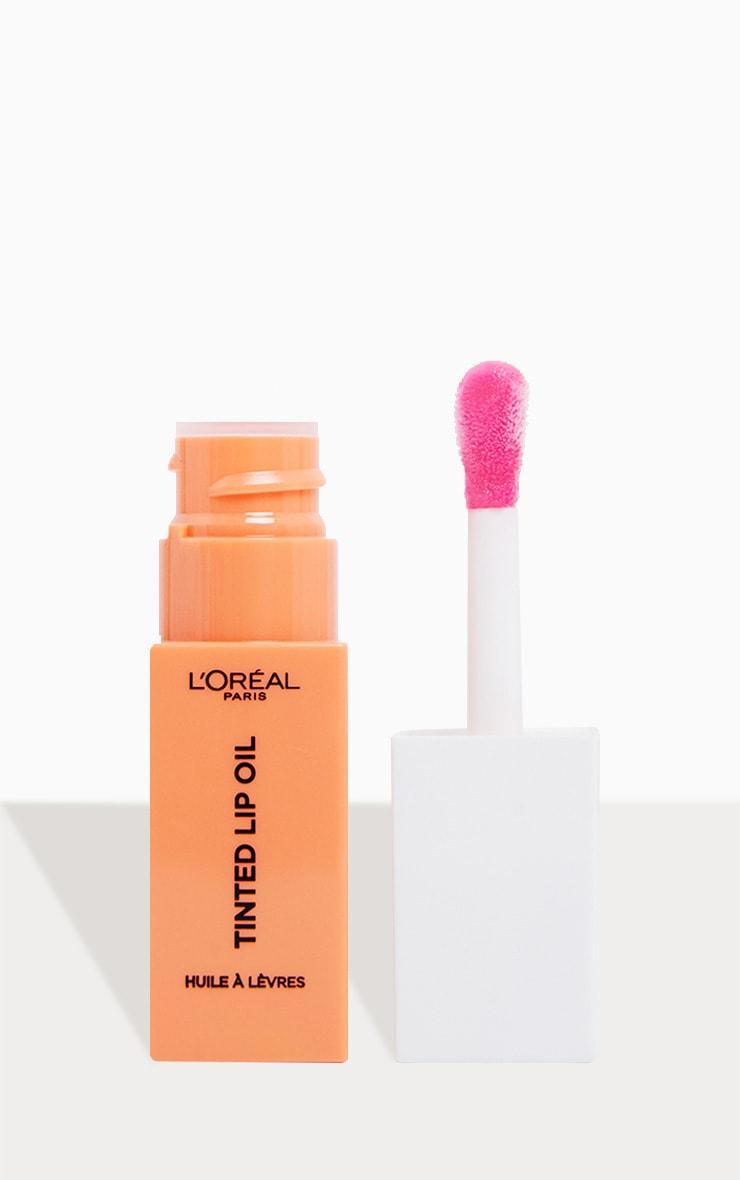 L'Oreal Paris Lip Spa Lip Oil 01 Jelly Peach