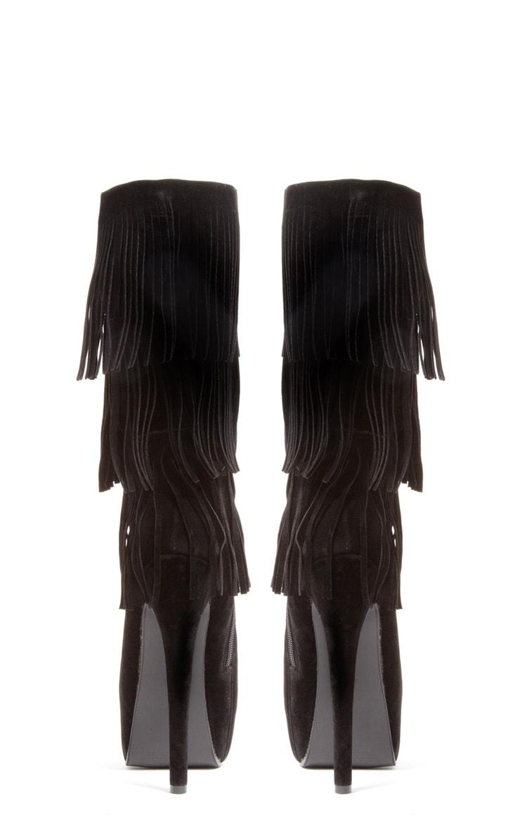 Cierra Mid Leg SuedetteTassel Boots 3