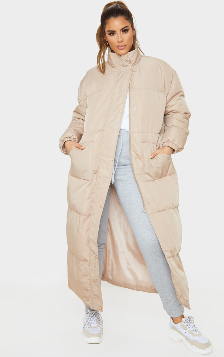 Tall Stone Longline Puffer Coat 1