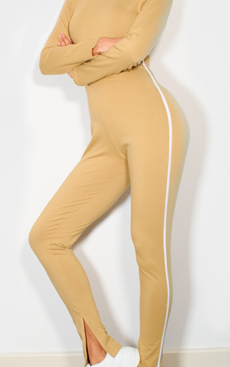 Camel Sports Stripe High Neck Jumpsuit 3