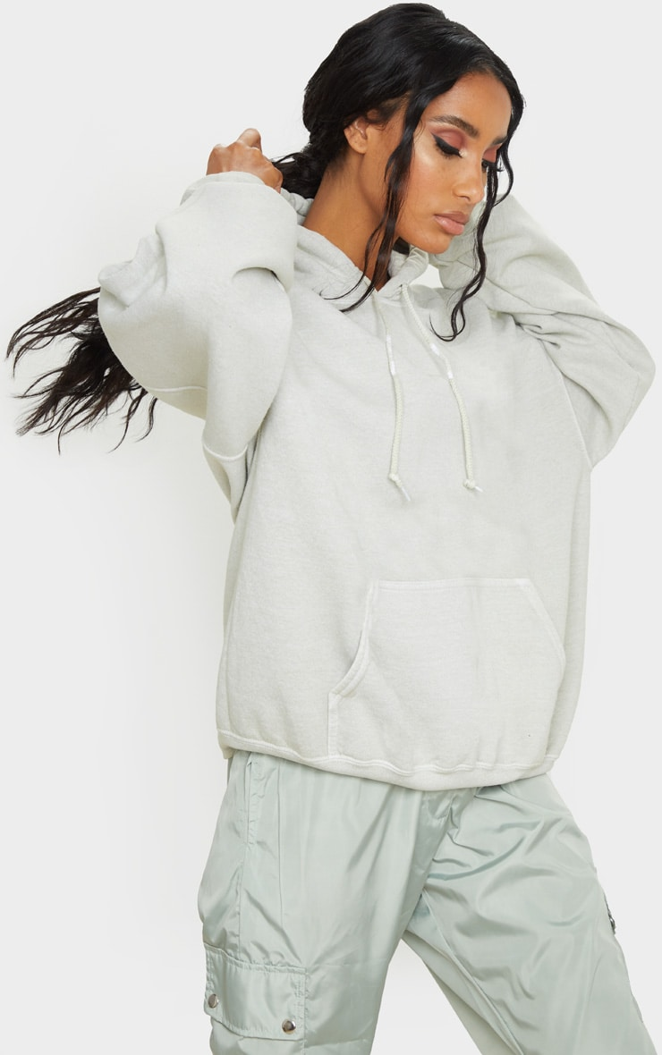 Sage Green Ultimate Oversized Hoodie 4