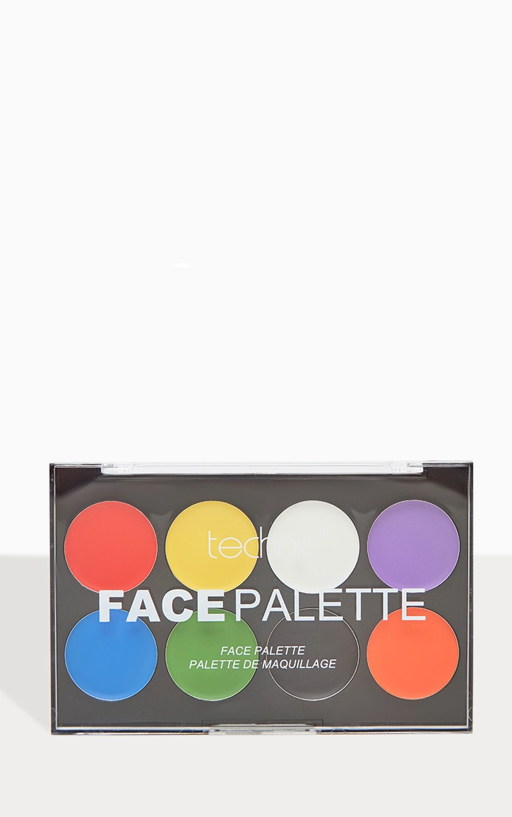 Halloween Face Paints Palette 2