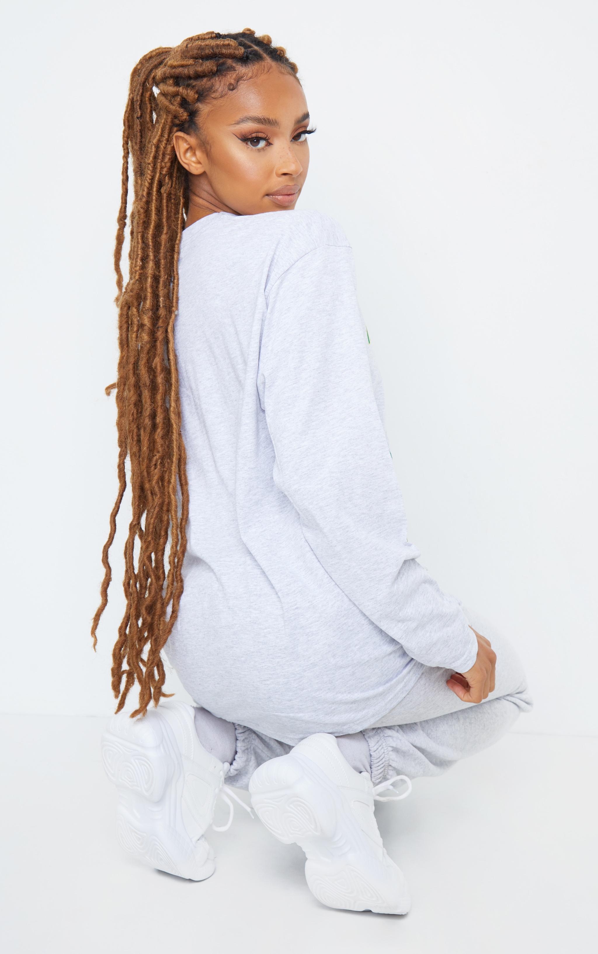 Grey North Carolina First Team Printed Long Sleeve T Shirt 2