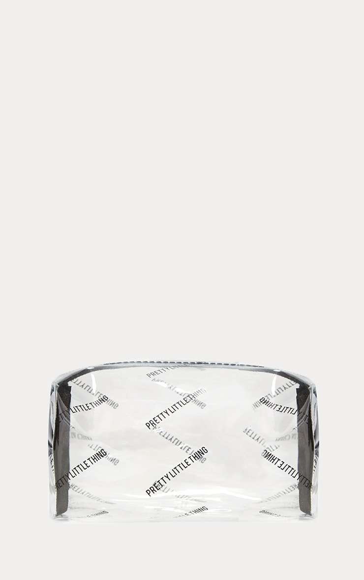 PRETTYLITTLETHING Transparent Cosmetic Bag 1