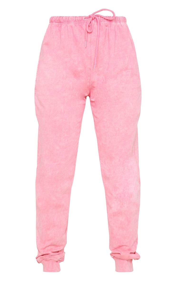 Light Pink High Waisted Skinny Jogger 3