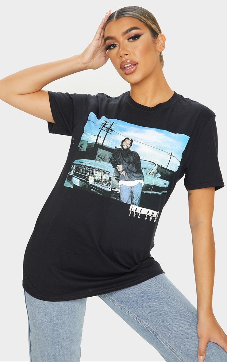 Black Ice Cube Photographic Print T Shirt 1