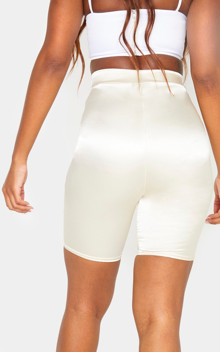 Champagne Satin Cycle Short 4