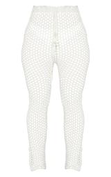 White Crochet Pants 5