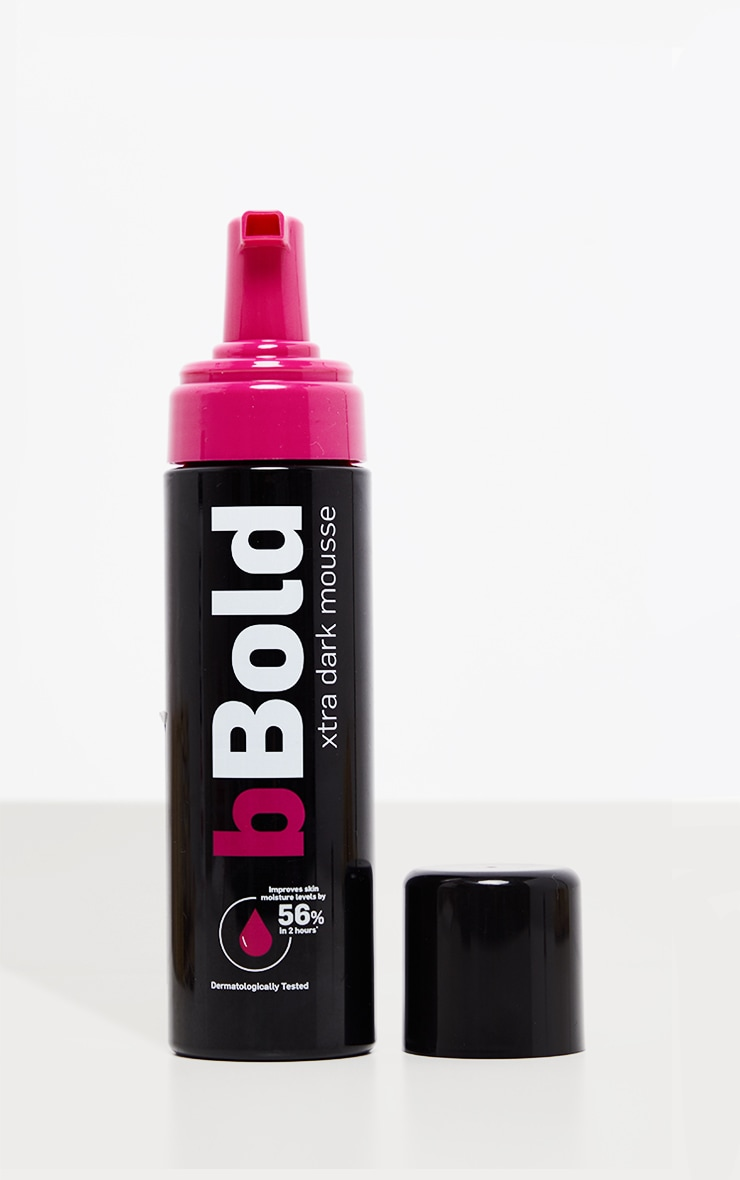 bBold Xtra Dark Tanning Mousse 175ml 3