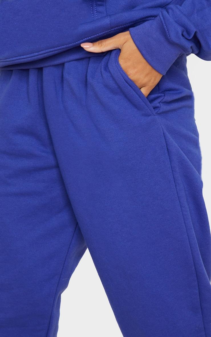 Royal Blue Casual Joggers 4