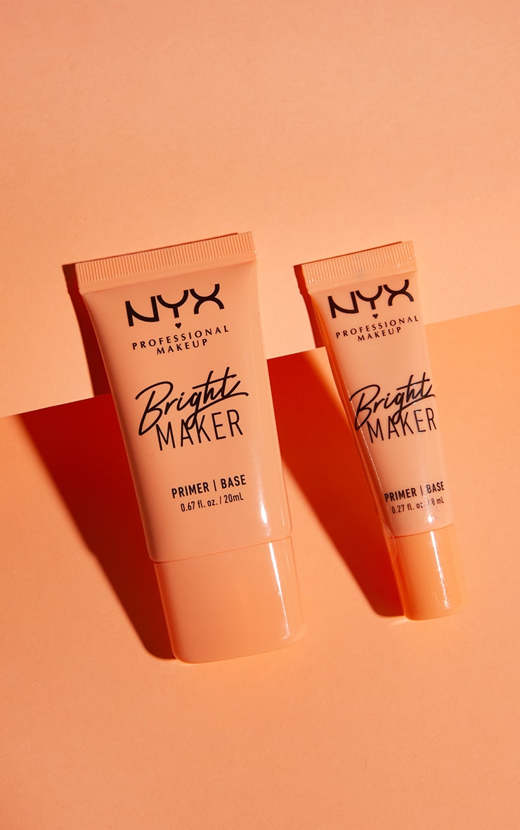 NYX PMU Bright Maker Super Brightening Papaya Face Primer 4
