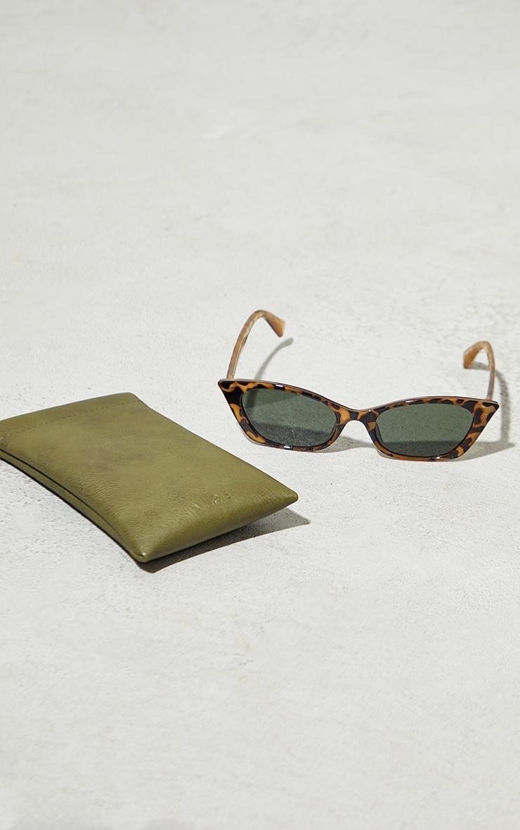AIRE Tort Titania Cateye Sunglasses 2
