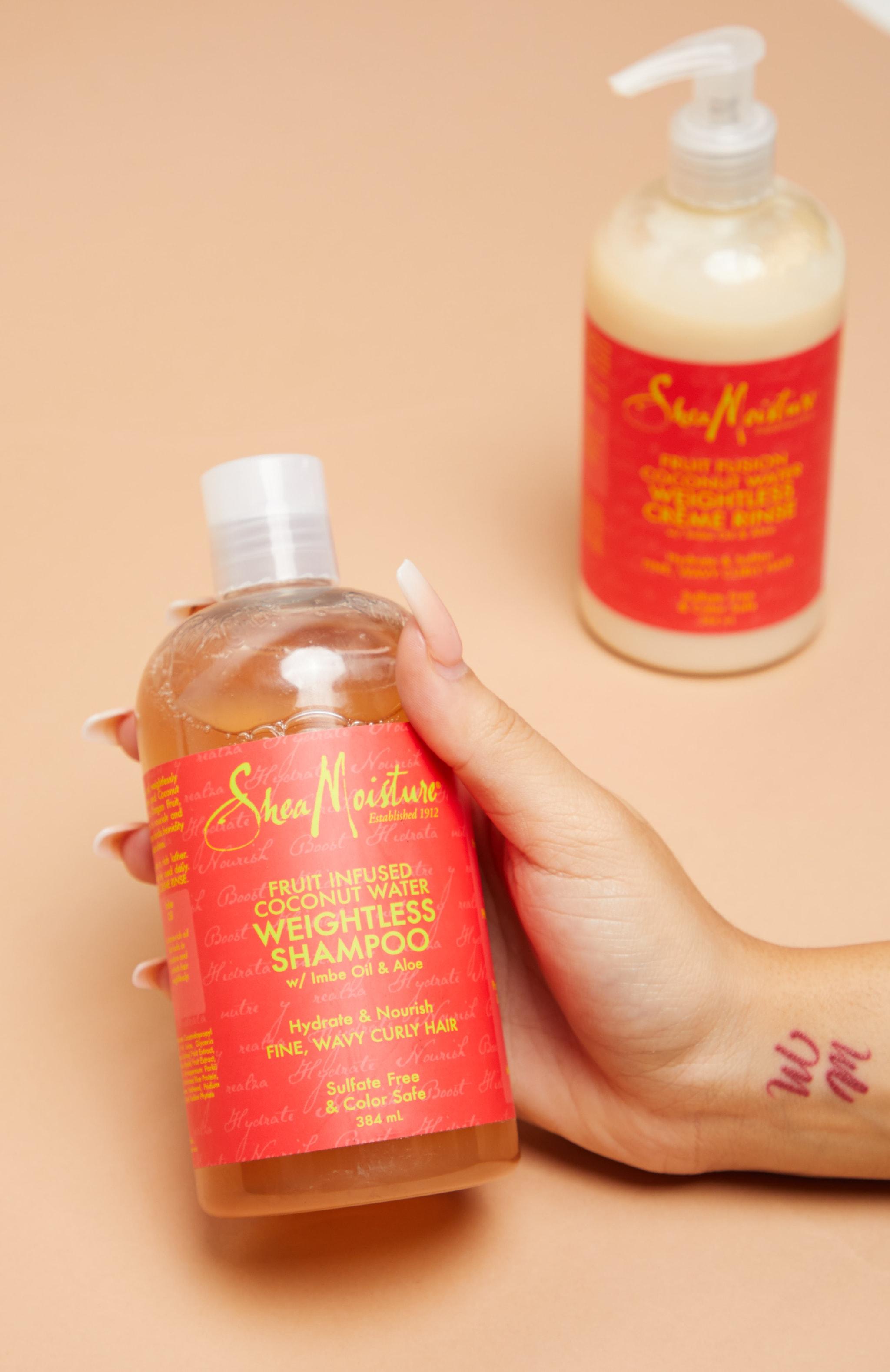 Shea Moisture Fruit Fusion Shampoo 384ml 3
