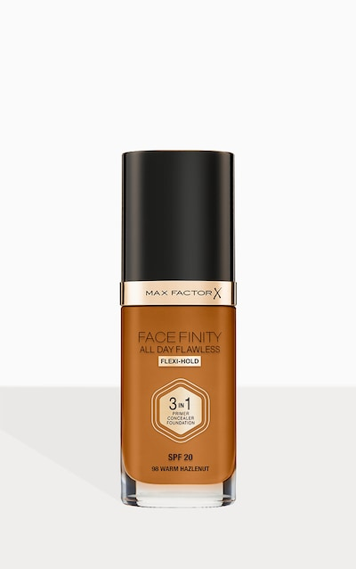 Max Factor Facefinity All Day Flawless Foundation Warm Hazelnut