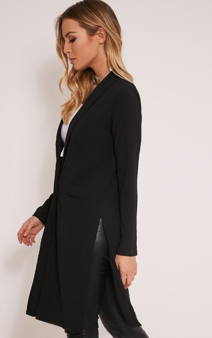 Kalla blazer long noir 4