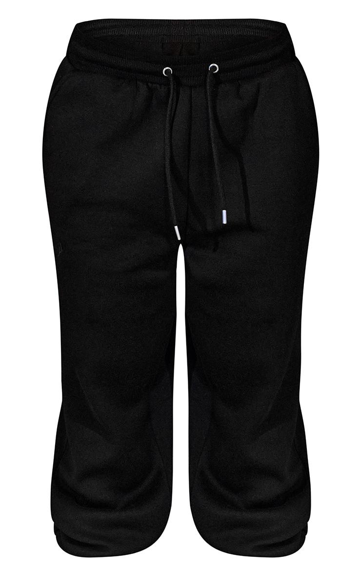 Black Unisex Oversized Joggers 5