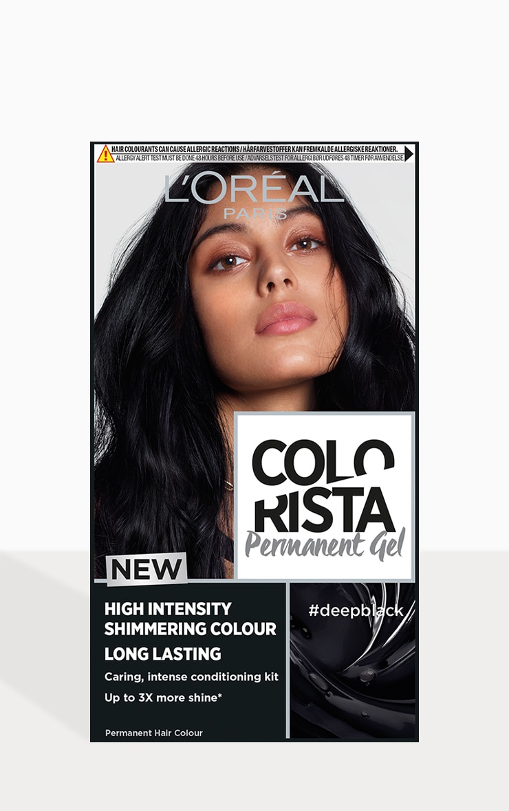 L'Oreal Colorista Deep Black Hair Dye Long-Lasting Permenant Hair Colour 1