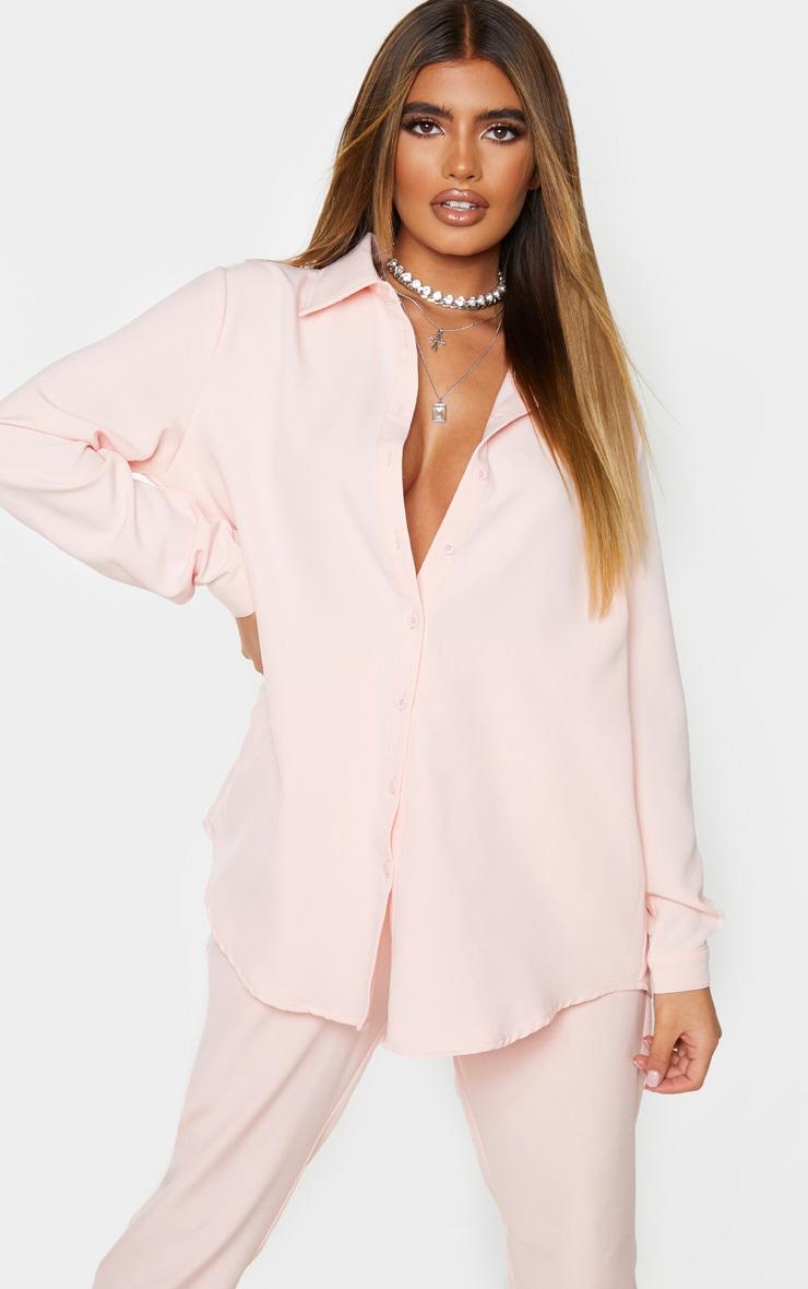 Light Pink Oversized Shirt 1