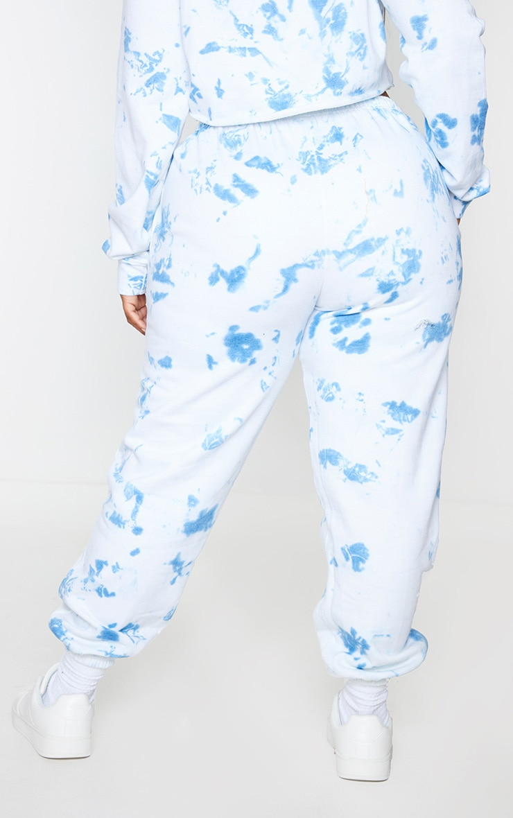 Plus Blue Tied Dye Jogger 3