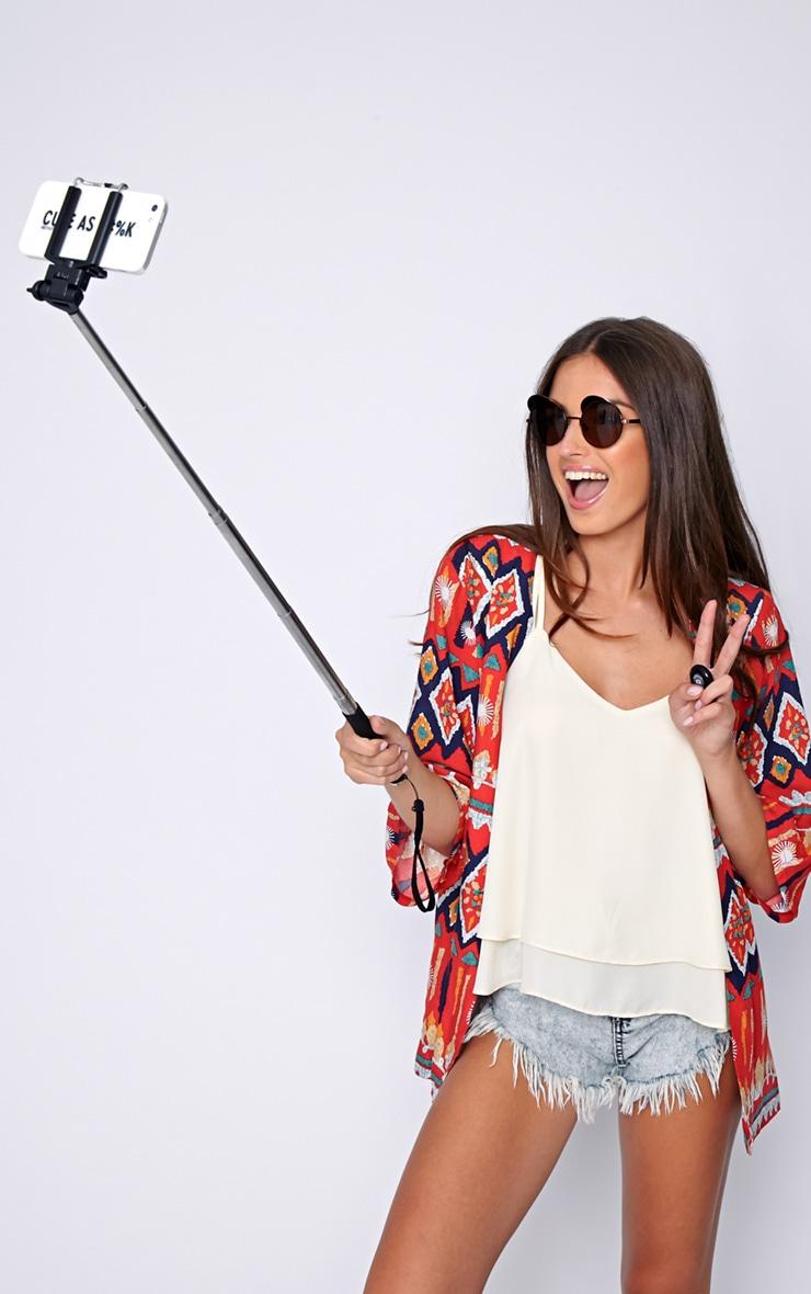 Black Selfy Stick Pro 3
