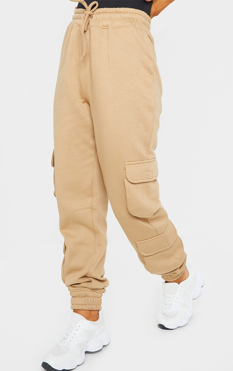 Camel Pocket Detail Joggers 2