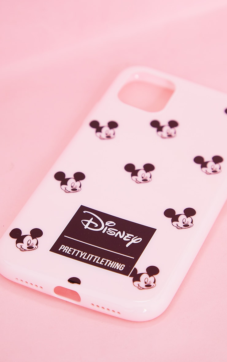 PRETTYLITTLETHING Pink Mickey Mouse iPhone 11 Case 3