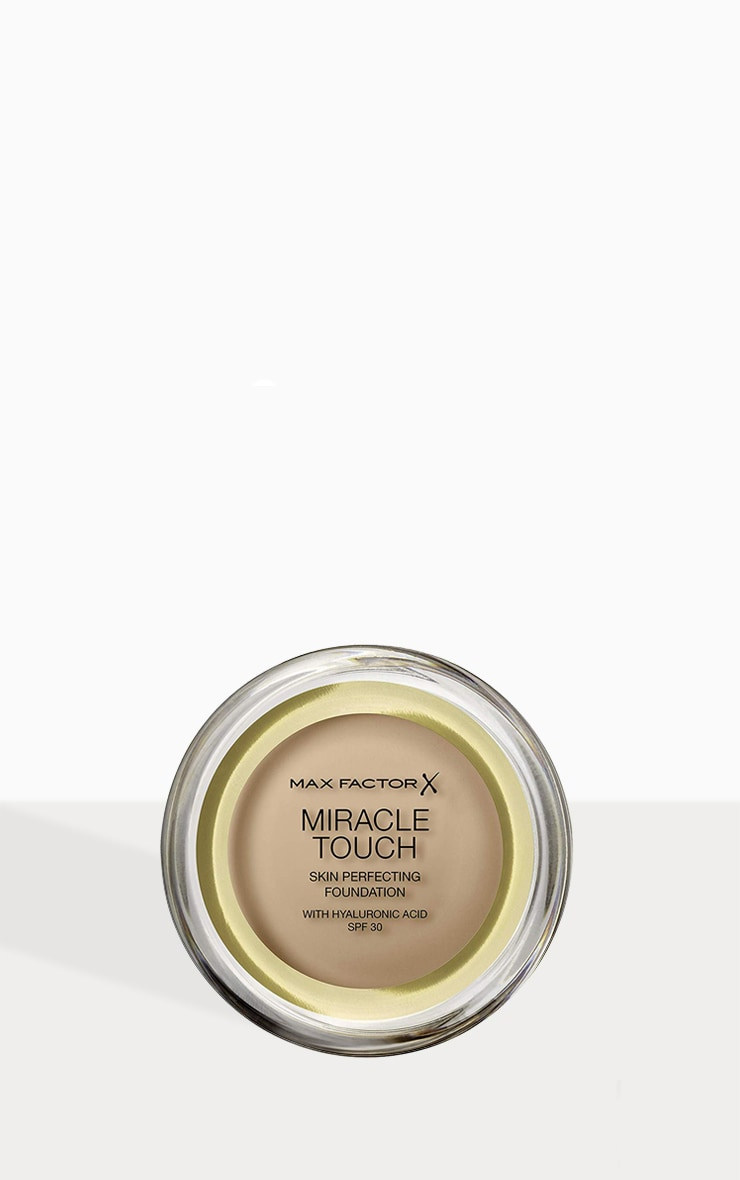 Max Factor Miracle Touch Foundation Sand Beige 1