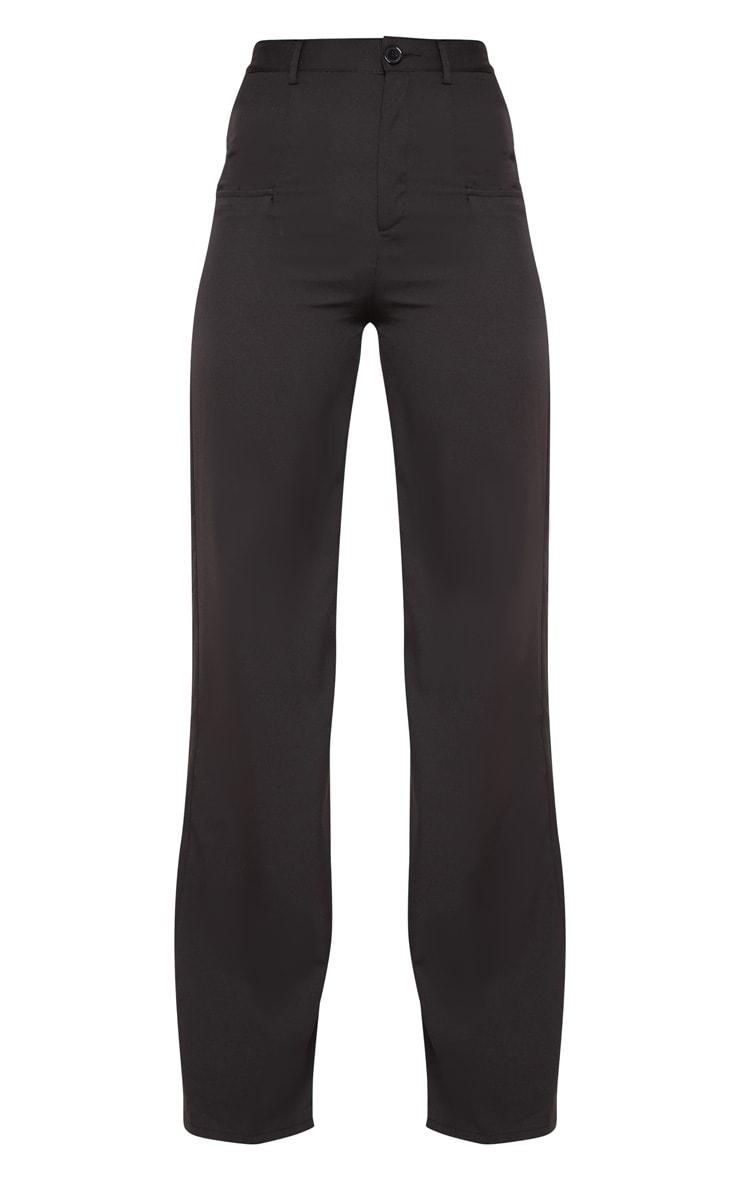 Tall - Pantalon ample noir à poches 3