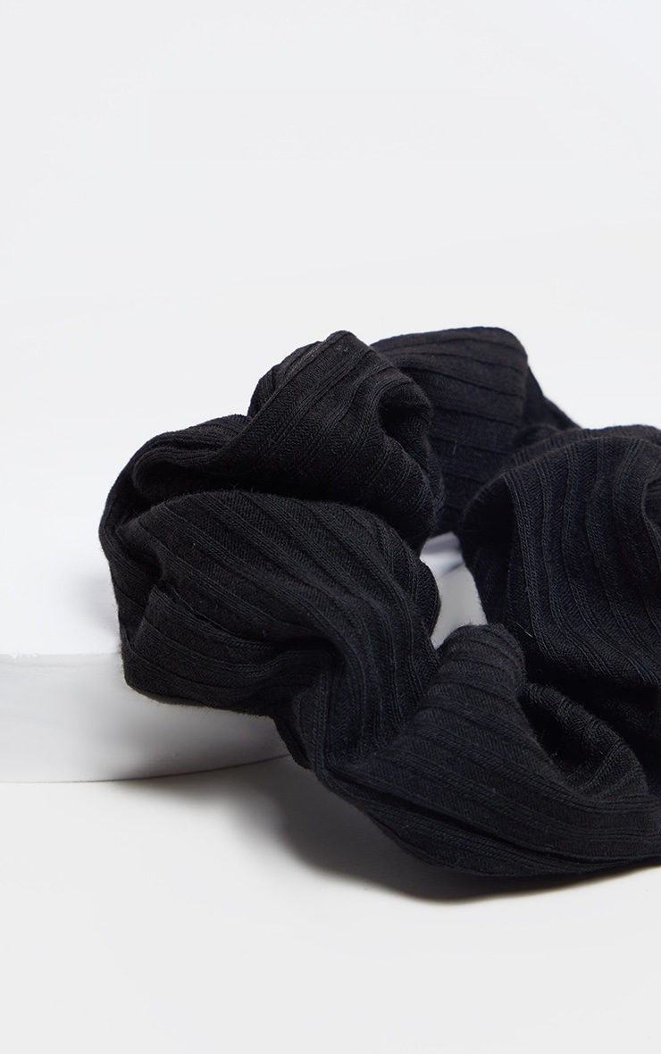 Basic Black Scrunchie 2