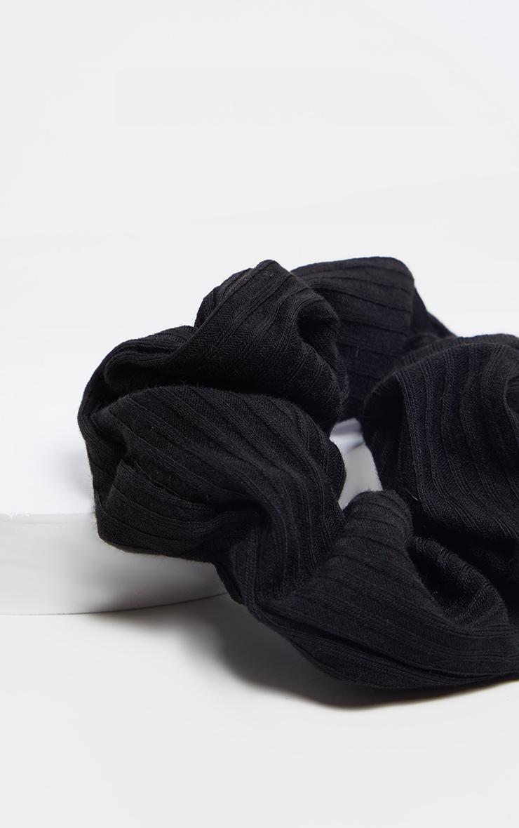 Basic Black Scrunchie 3