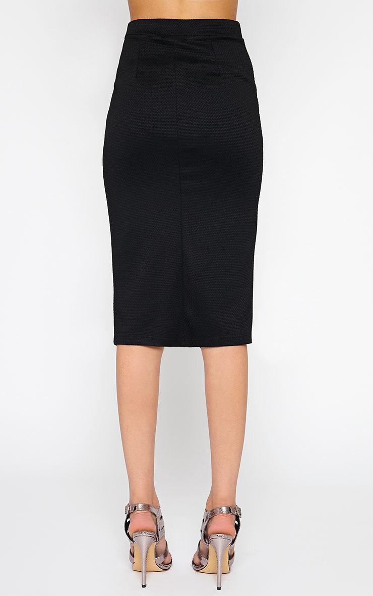 Nala Black Pencil Pocket Skirt 3