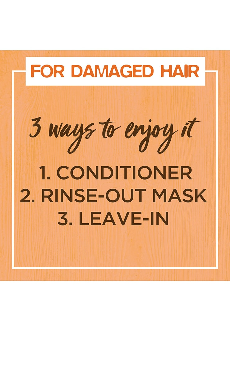Garnier Ultimate Blends Hair Food Papaya 3-in-1 Damaged Hair Mask 5