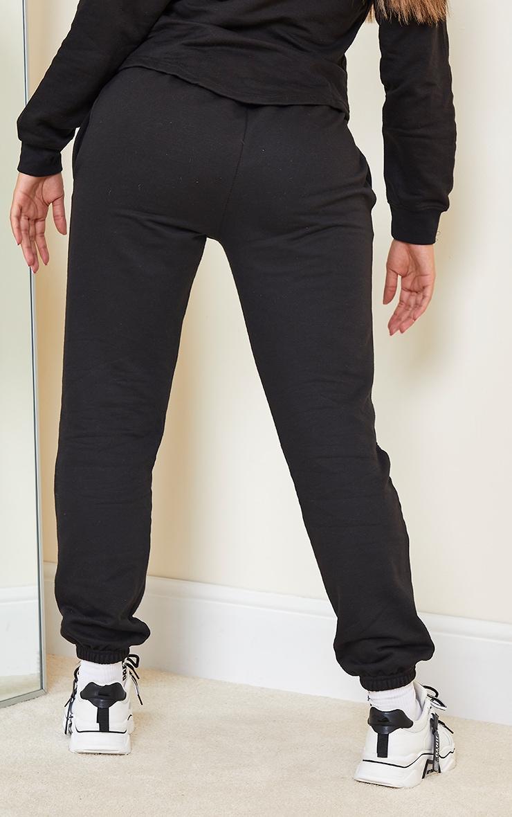 Shape - Jogging noir à parties contrastées 3