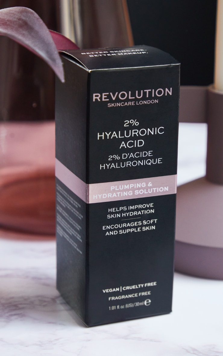 Revolution Skincare Plumping and Hydrating Serum - 2% Hyaluronic Acid 3
