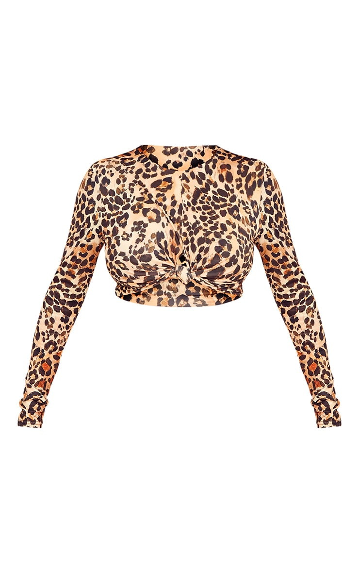 Shape Lexis Leopard Print Co-ord Top 3