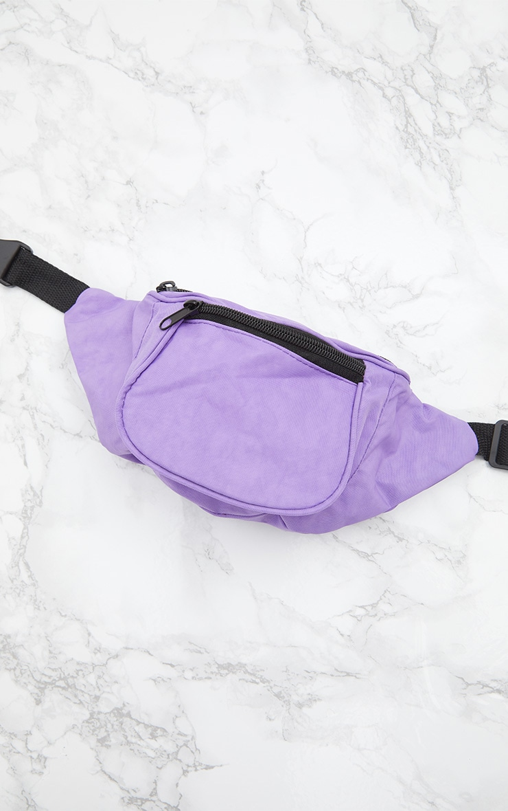 Purple Small Bum Bag 6