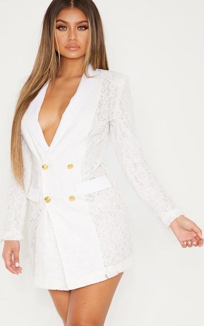 515a2e5a902 White Dresses | Little White Dresses | PrettyLittleThing