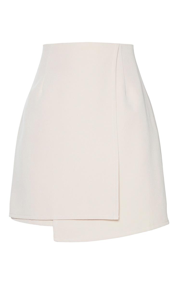 Stone Woven Wrap Mini Skirt 6
