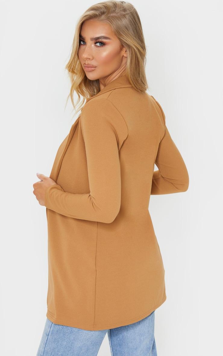 Camel Longline Blazer 2