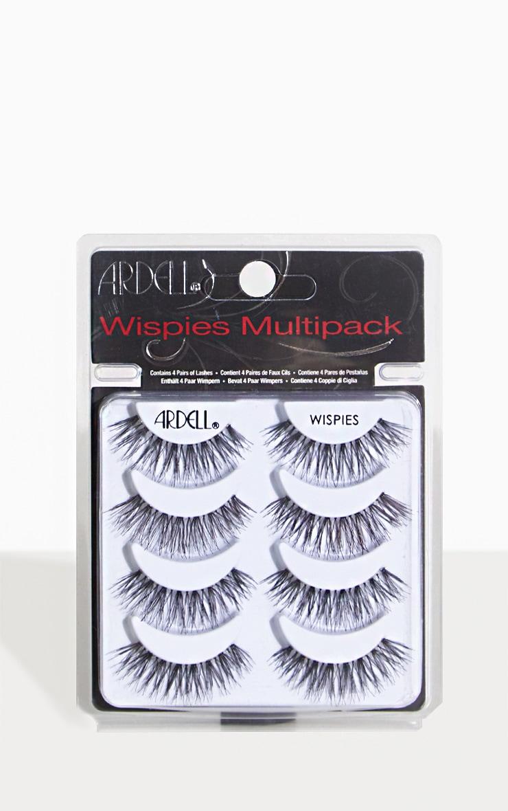 Ardell Multipack Of 4 Wispies False Eyelashes 2