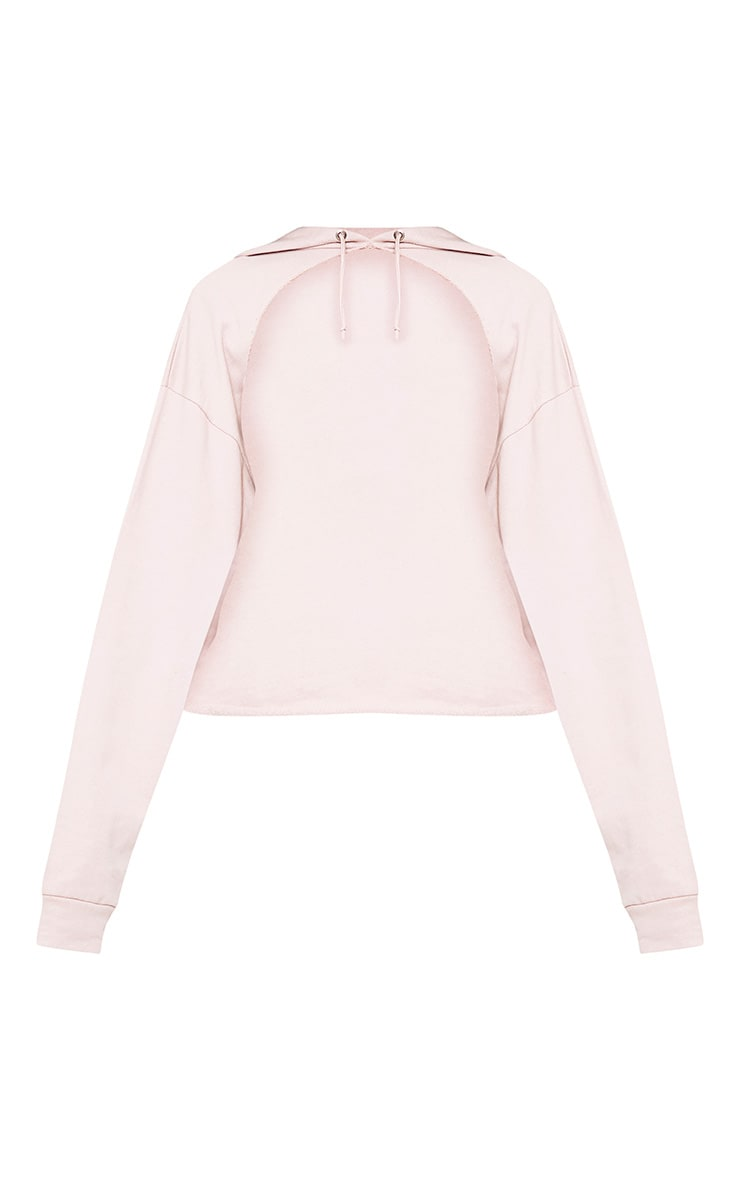 Juliane Lilac Extreme Open Front Hoodie 3
