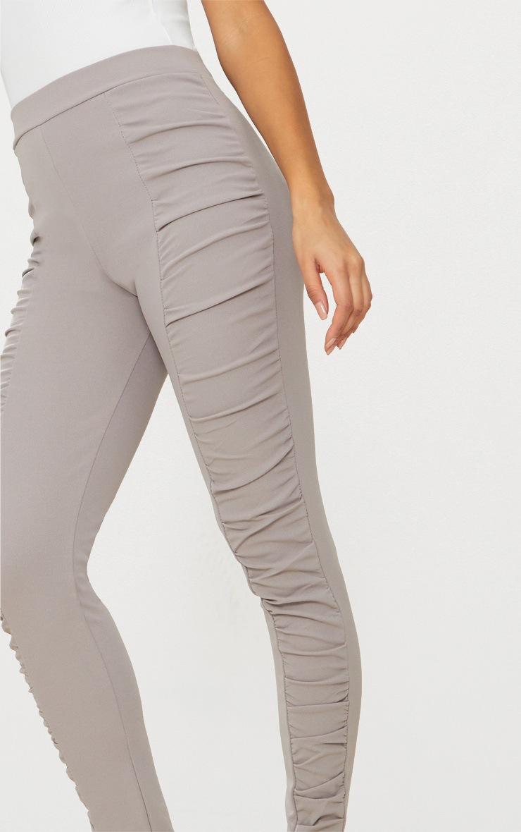 Grey Ruched Front Legging 4