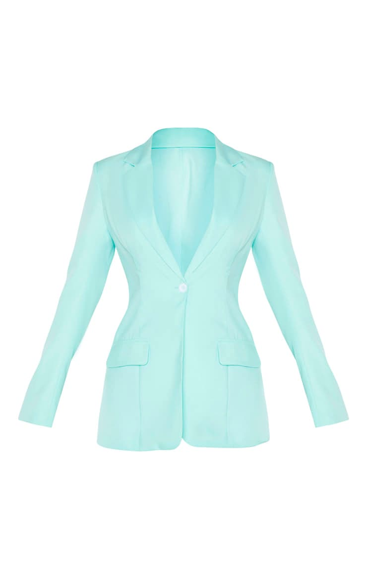 Aqua Structured Suit Woven Blazer 3