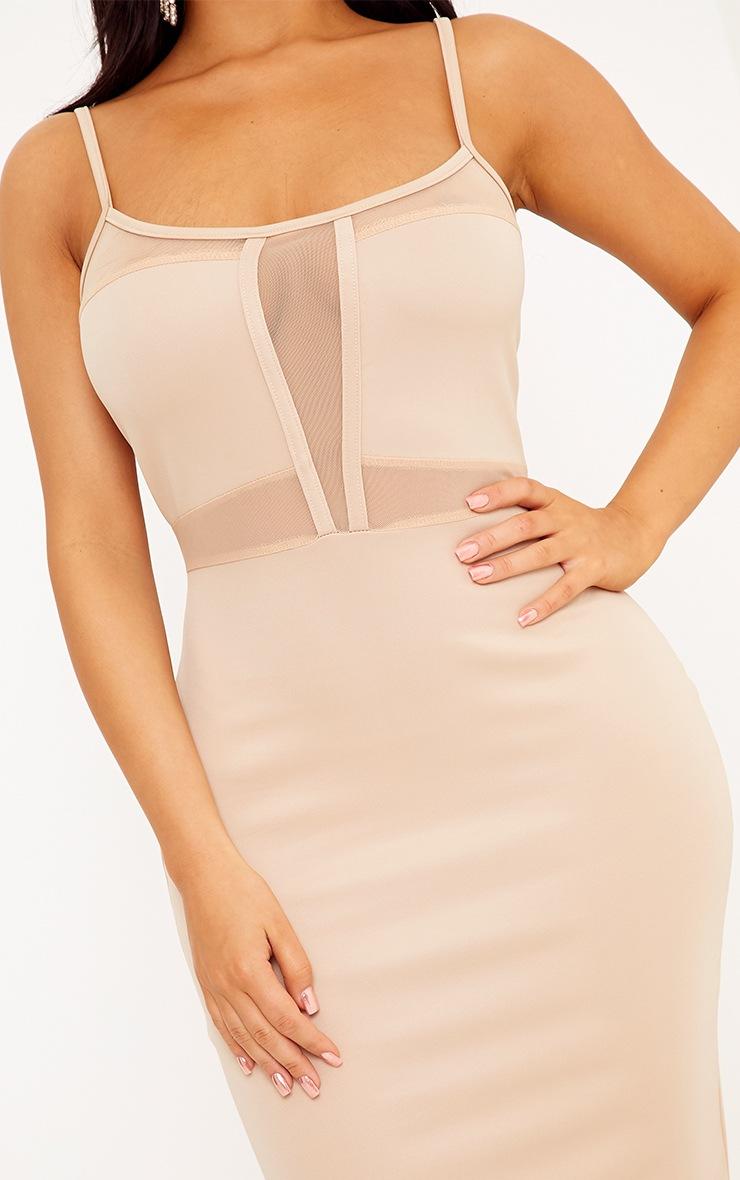 Shape Laida Nude Cami Mesh Insert Dress 4