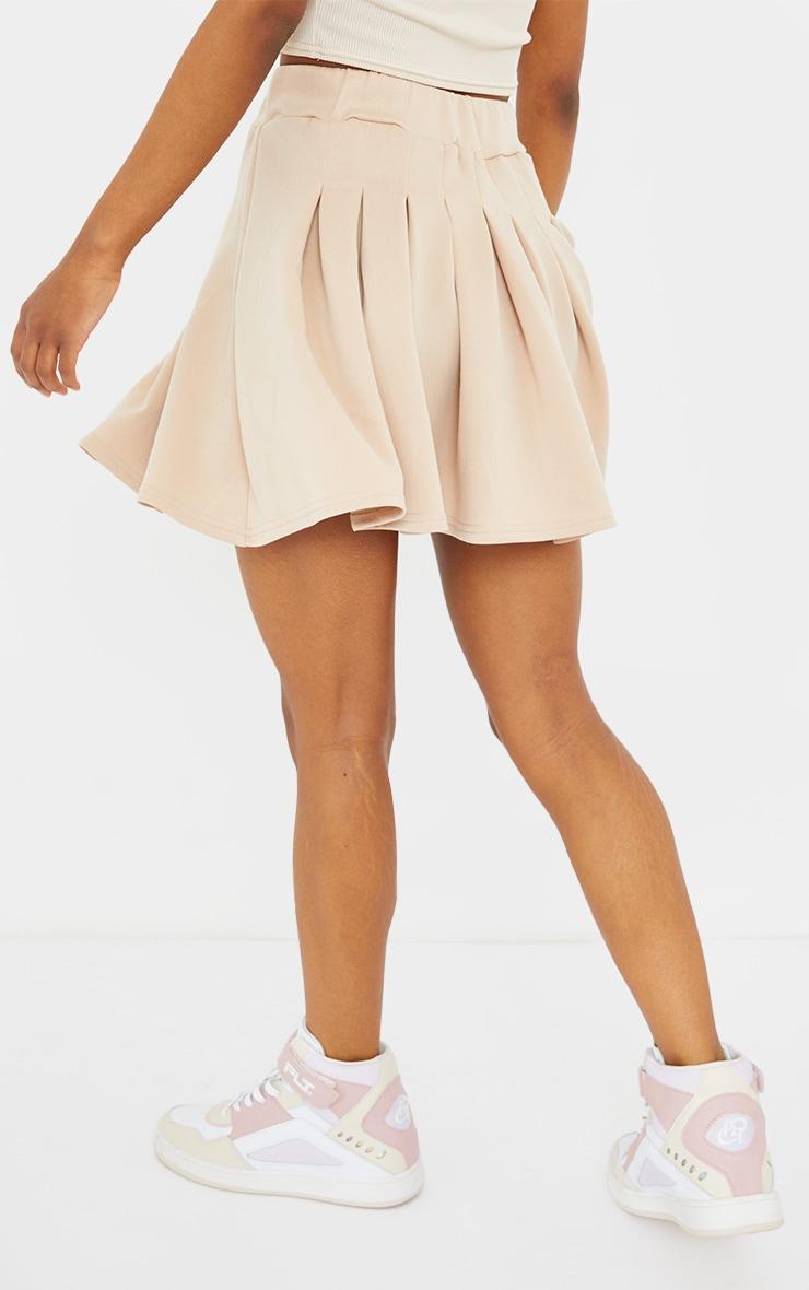 PRETTYLITTLETHING Petite Stone Tennis Skirt 3