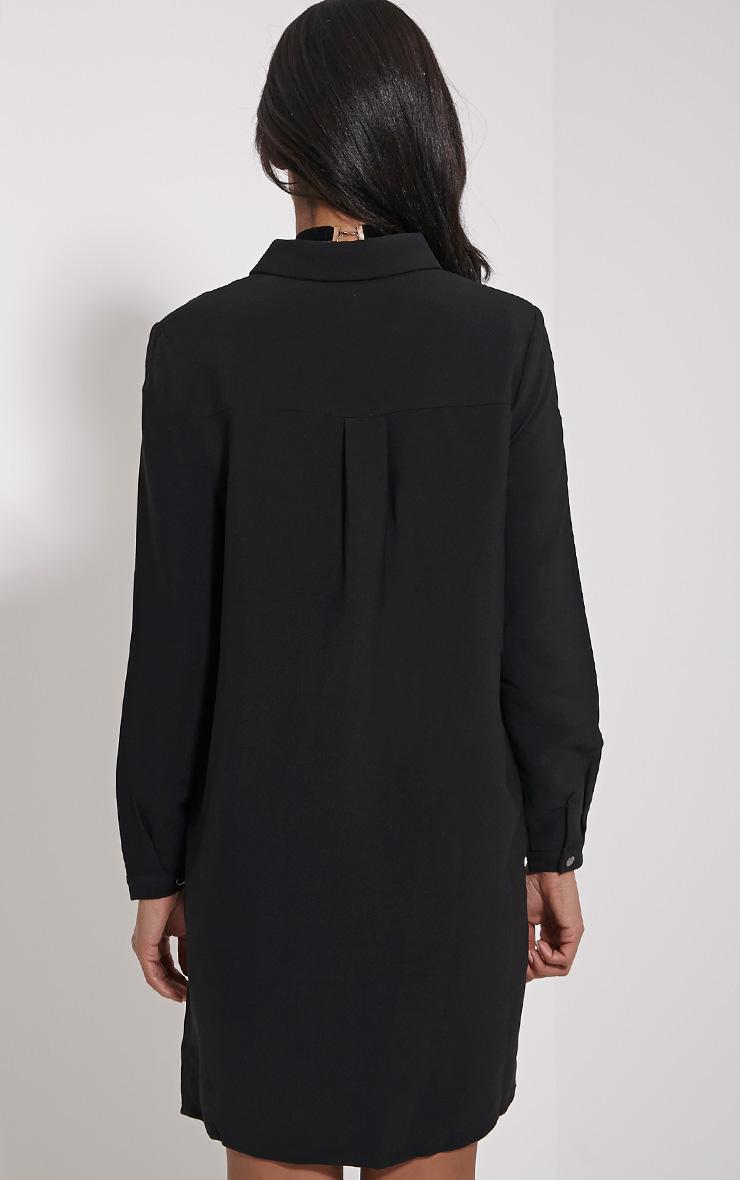Raden Black Premium Shirt Dress 2