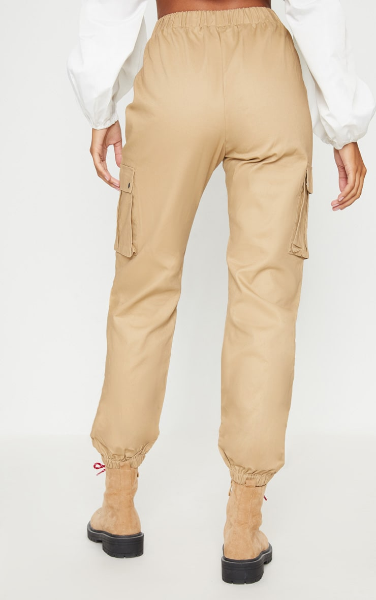 Stone Pocket Detail Cargo Trousers 5